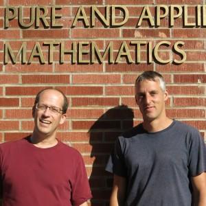 Keith Promislow and Graeme Henkelman at IPAM